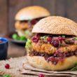 Rodem z Ameryki - domowe burgery z orzechami i bakaliowym musem